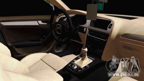 Audi S4 Sedan 2010 pour GTA San Andreas vue de droite