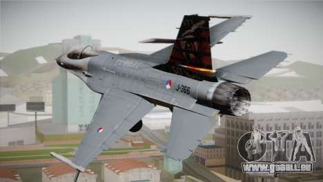 F-16 Fighting Falcon 50th Anniv. of Squadron 313 für GTA San Andreas linke Ansicht