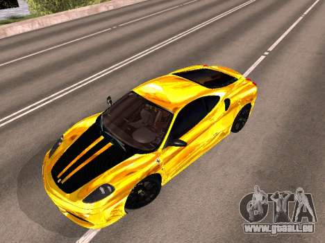 Ferrari F430 pour GTA San Andreas vue de côté