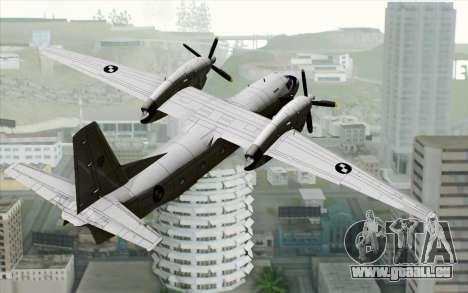 AN-32B Croatian Air Force Closed für GTA San Andreas linke Ansicht