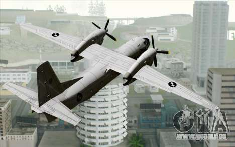 AN-32B Croatian Air Force Closed pour GTA San Andreas laissé vue