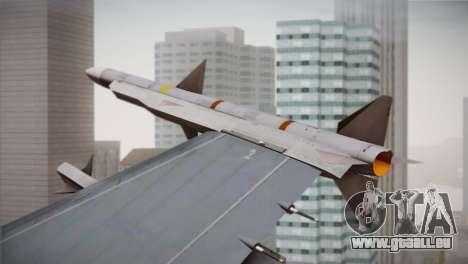 F-16 Fighting Falcon RNLAF für GTA San Andreas rechten Ansicht