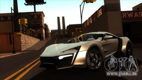 ENBSeries pour les faibles PC v5 pour GTA San Andreas troisième écran