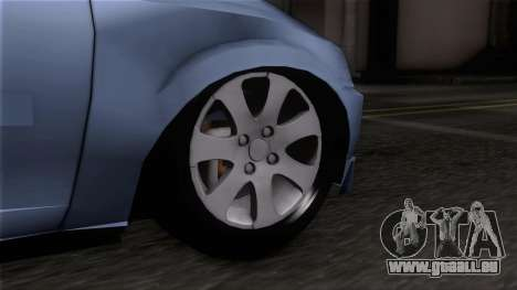 Suzuki Fun pour GTA San Andreas sur la vue arrière gauche
