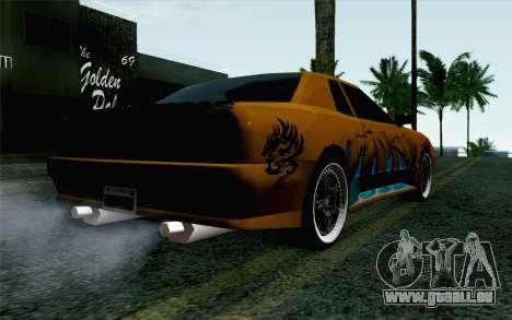 Nights Elegy für GTA San Andreas linke Ansicht
