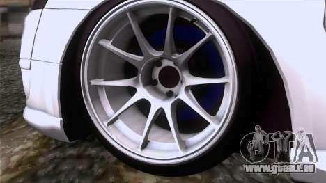 Citroen C2 pour GTA San Andreas sur la vue arrière gauche