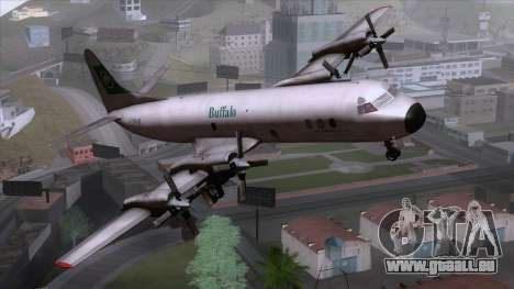 L-188 Electra Buffalo Airways pour GTA San Andreas