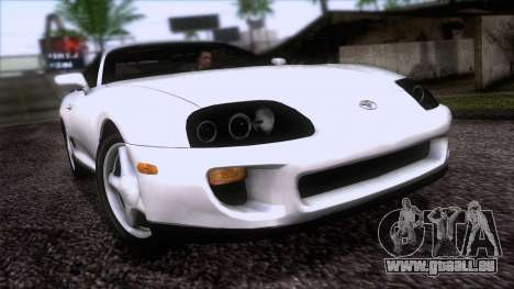 Toyota Supra US-Spec (JZA80) 1993 HQLM für GTA San Andreas
