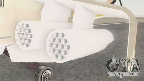 Savage GTA 5 für GTA San Andreas zurück linke Ansicht