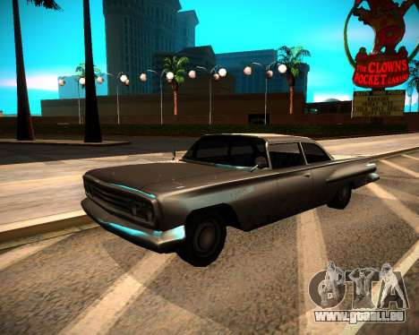 ENB GreenSeries pour GTA San Andreas quatrième écran