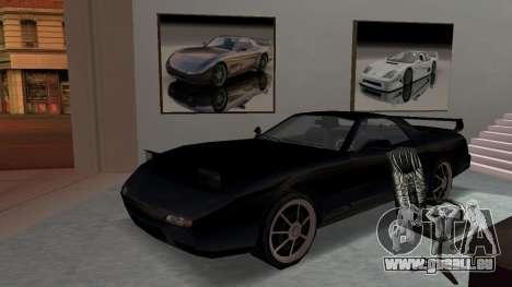 Beta ZR-350 Final für GTA San Andreas