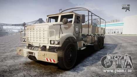 GTA 5 Barracks v2 für GTA 4 obere Ansicht