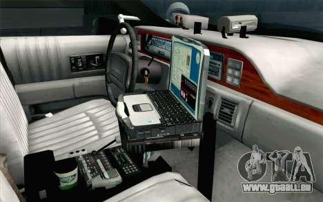 Chevy Caprice SAHP SAPD Highway Patrol v1 pour GTA San Andreas vue de droite
