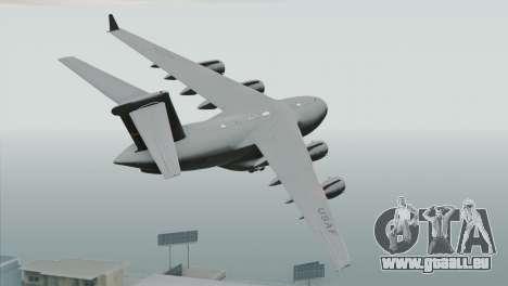 C-17A Globemaster III USAF March für GTA San Andreas linke Ansicht