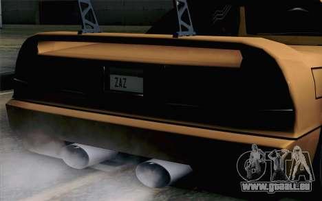 Infernus Edicte v2 pour GTA San Andreas vue arrière