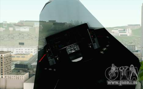 Sukhoi PAK-FA China Air Force für GTA San Andreas rechten Ansicht
