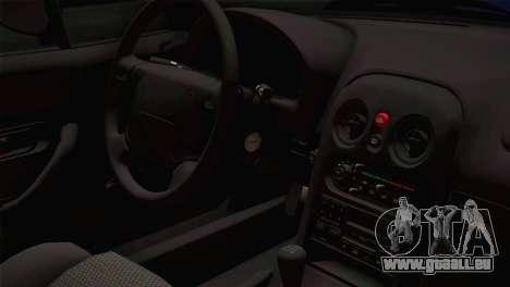 Mazda Miata Cabrio v2 für GTA San Andreas Rückansicht
