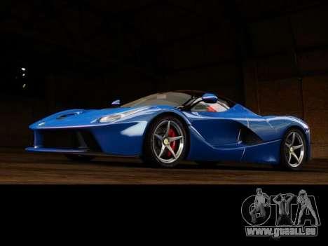 Ferrari Laferrari für GTA 4 Rückansicht