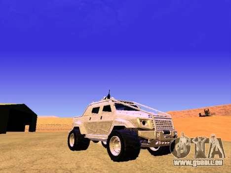 HVY Aufständischen Pickup für GTA San Andreas