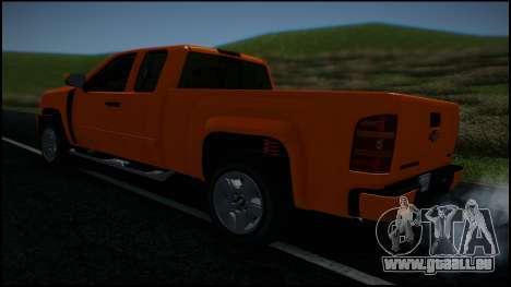 Chevrolet Silverado 1500 HD Stock pour GTA San Andreas roue