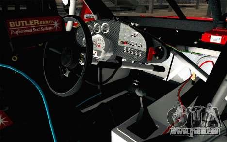NASCAR Chevrolet Impala 2012 Short Track für GTA San Andreas rechten Ansicht