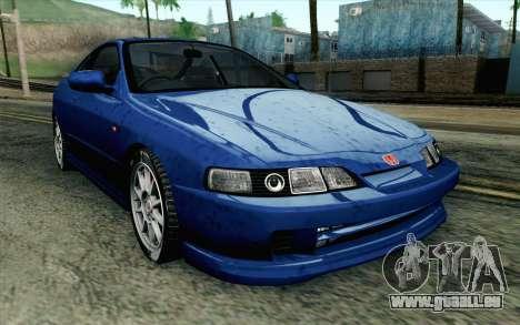 Honda Integra Type R 2000 Stock pour GTA San Andreas