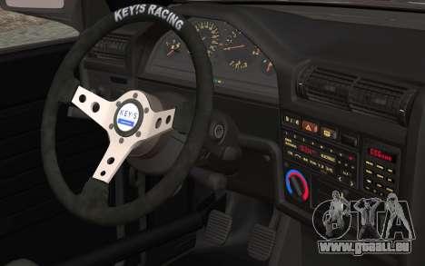 BMW E30 pour GTA San Andreas vue de droite