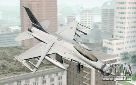 F-16 Fighting Falcon RNoAF PJ pour GTA San Andreas