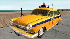 De GAZ 22 la police Soviétique