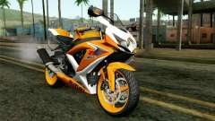 Suzuki GSX-R 600 2015 Orange