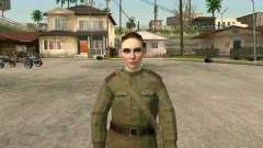 Le sergent militaire champ de la médecine