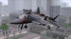 Sukhoi T-50 PAK FA Akula with Trinity