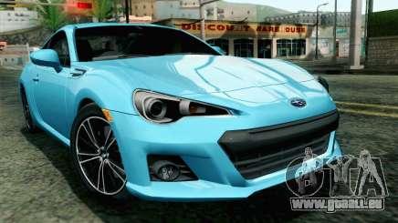 Subaru BRZ 2012 pour GTA San Andreas