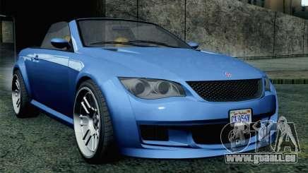 GTA 5 Ubermacht Sentinel Coupe SA Mobile für GTA San Andreas