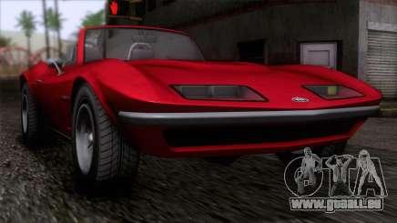 GTA 5 Invetero Coquette Classic TL IVF für GTA San Andreas