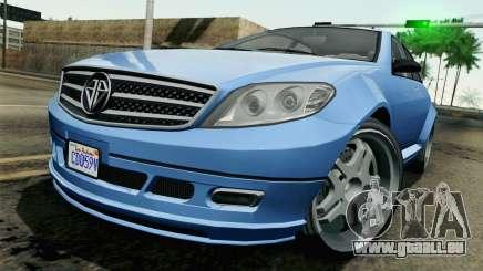 GTA 5 Benefactor Schafter für GTA San Andreas