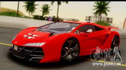 GTA 5 Pegassi Zentorno Zen Edition pour GTA San Andreas