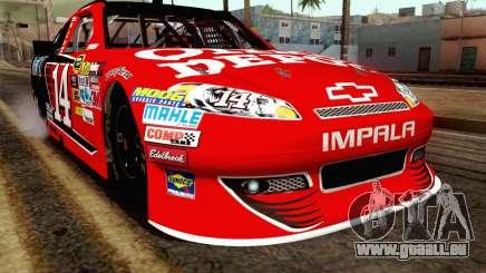 NASCAR Chevrolet Impala 2012 Short Track für GTA San Andreas