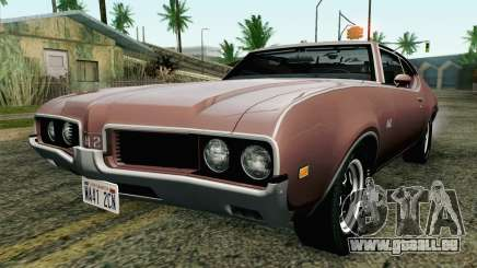 Oldsmobile 442 Holiday Coupe 1969 HQLM pour GTA San Andreas