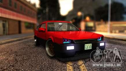 Blista Compact By VeroneProd für GTA San Andreas
