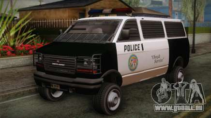 GTA 5 Police Transporter für GTA San Andreas
