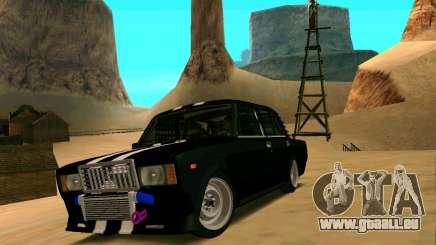 VAZ 2107 CRAMPES pour GTA San Andreas