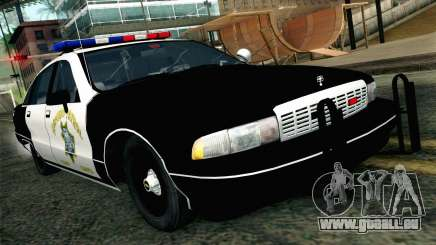 Chevy Caprice SAHP SAPD Highway Patrol v1 für GTA San Andreas