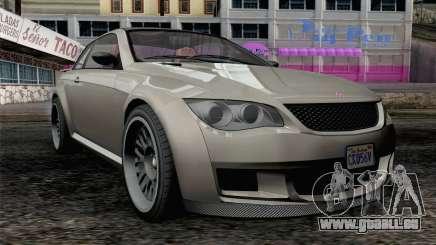 GTA 5 Ubermacht Sentinel XS IVF pour GTA San Andreas