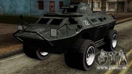 GTA 4 TBoGT Swatvan v2 pour GTA San Andreas