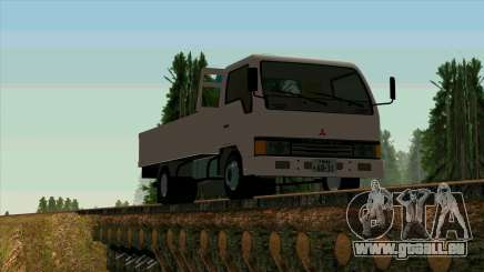 Mitsubishi Fuso Canter 1989 With Crane für GTA San Andreas