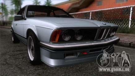 BMW M635 CSi 1984 Stock pour GTA San Andreas