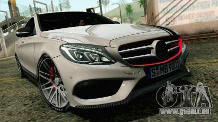 Mercedes-Benz C250 AMG Brabus Biturbo Edition EU für GTA San Andreas