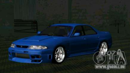 Nissan Skyline R33 4door outech pour GTA San Andreas