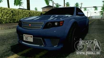 GTA 5 Cheval Fugitive HQLM für GTA San Andreas
